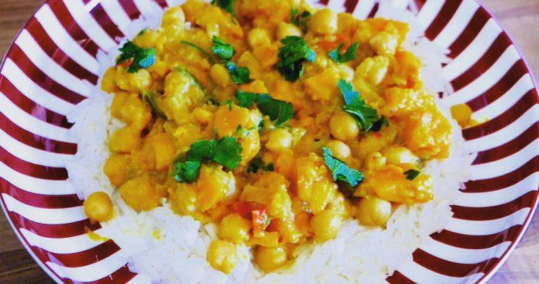 Chickpea, Sweet Potato & Coconut Curry
