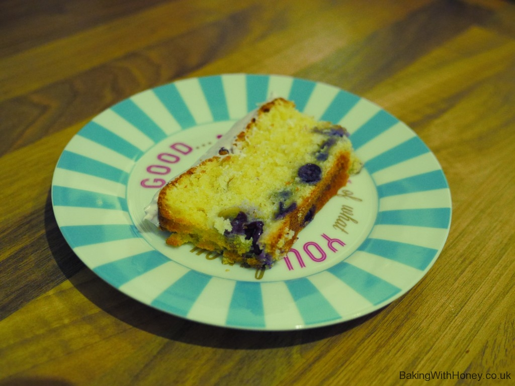 Vanilla & Blueberry Loaf Cake