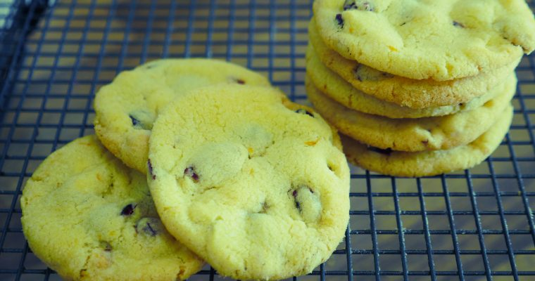 Zesty Cranberry & White Chocolate Cookies