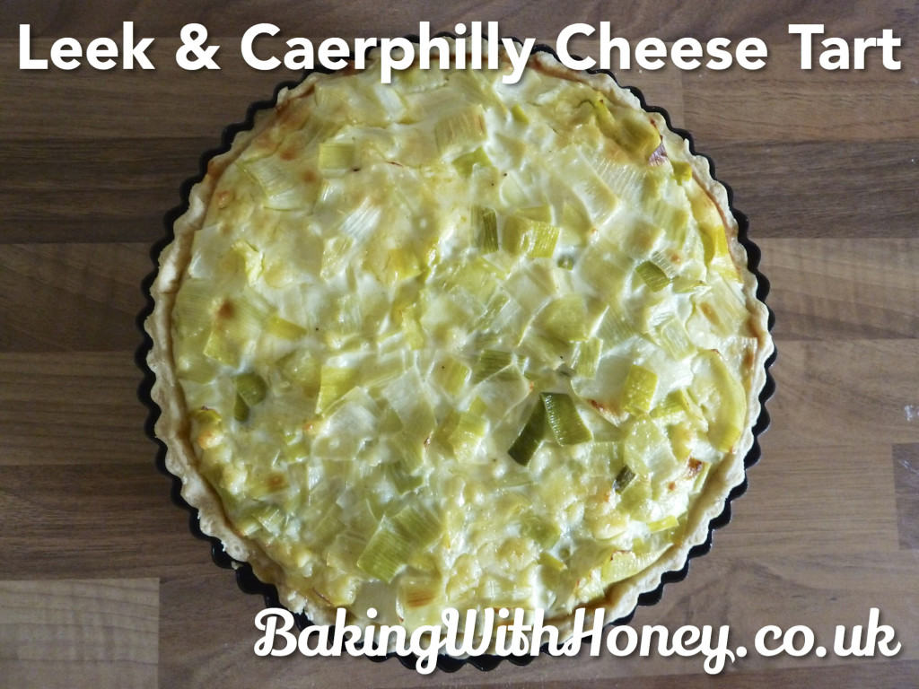 Leek and Caerphilly Cheese Tart