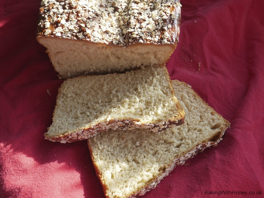 Scandi Oat and Honey Loaf