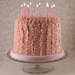 Ruffle Cake (Double-height)