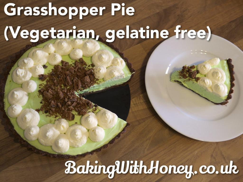Grasshopper Pie, Vegetarian, Gelatine Free