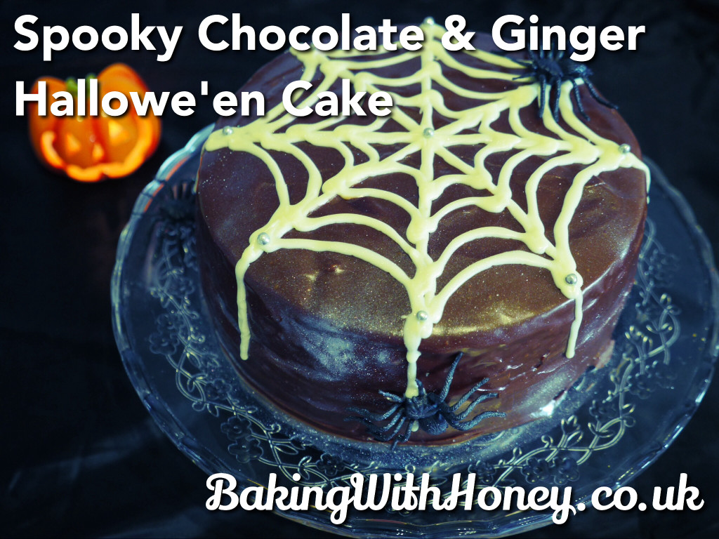 Chocolate and Ginger Spooky Halloween Cake
