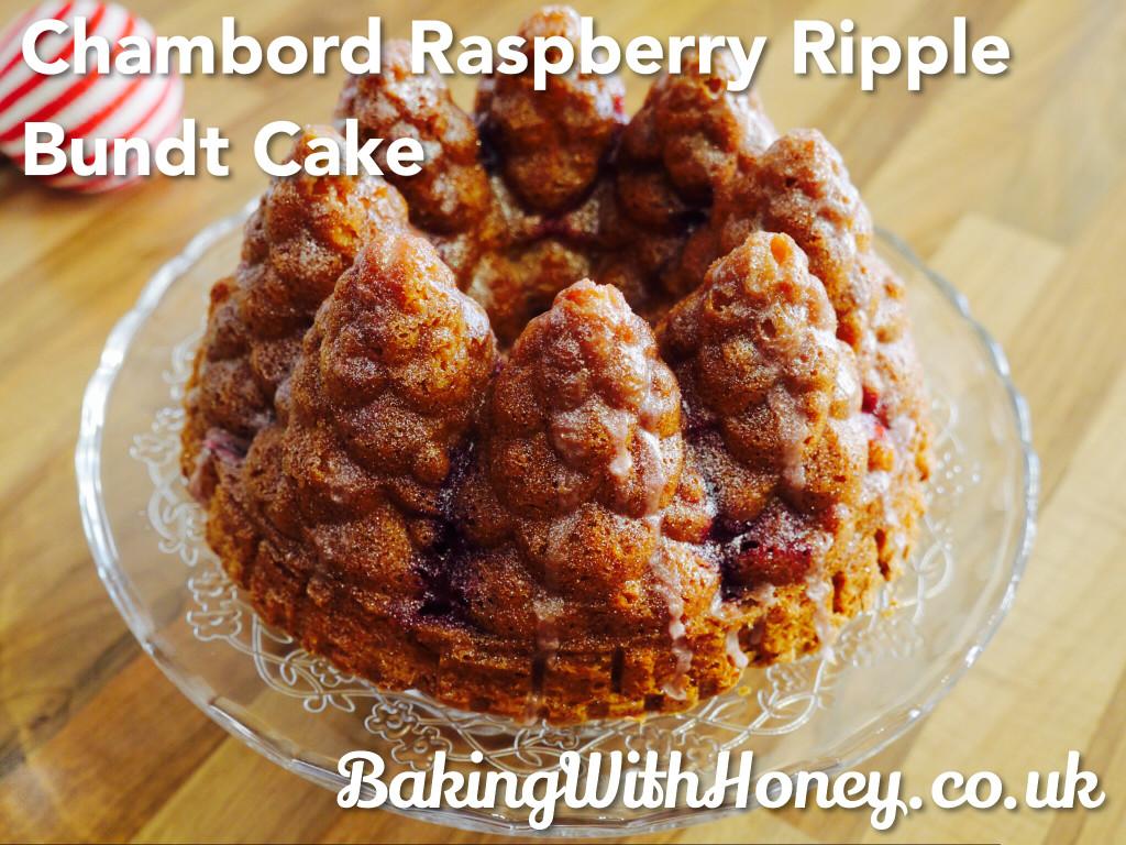 Chambord Raspberry Ripple Bundt Cake