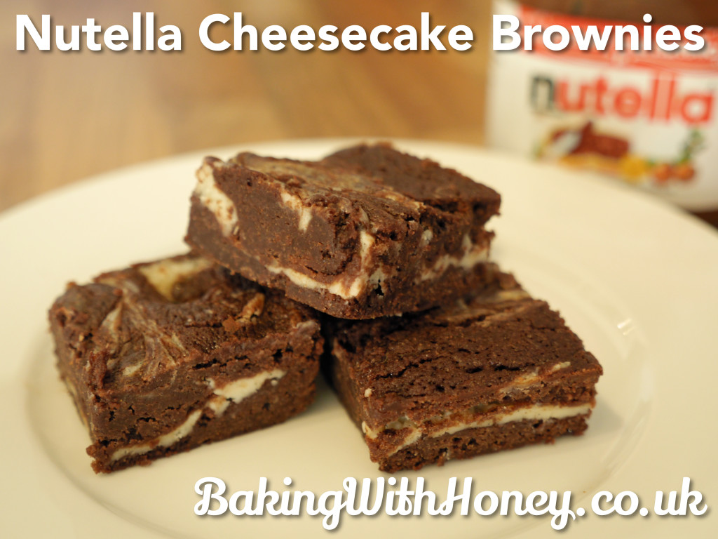 Nutella Cheesecake Brownies