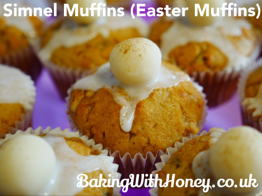 Simnel Easter Muffins