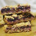 Vegan Blueberry and Pecan Oat Bars Recipe