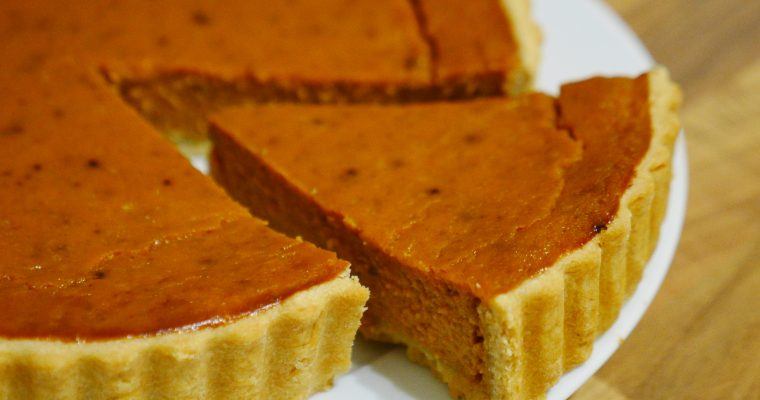 Garfield's Pumpkin Pie