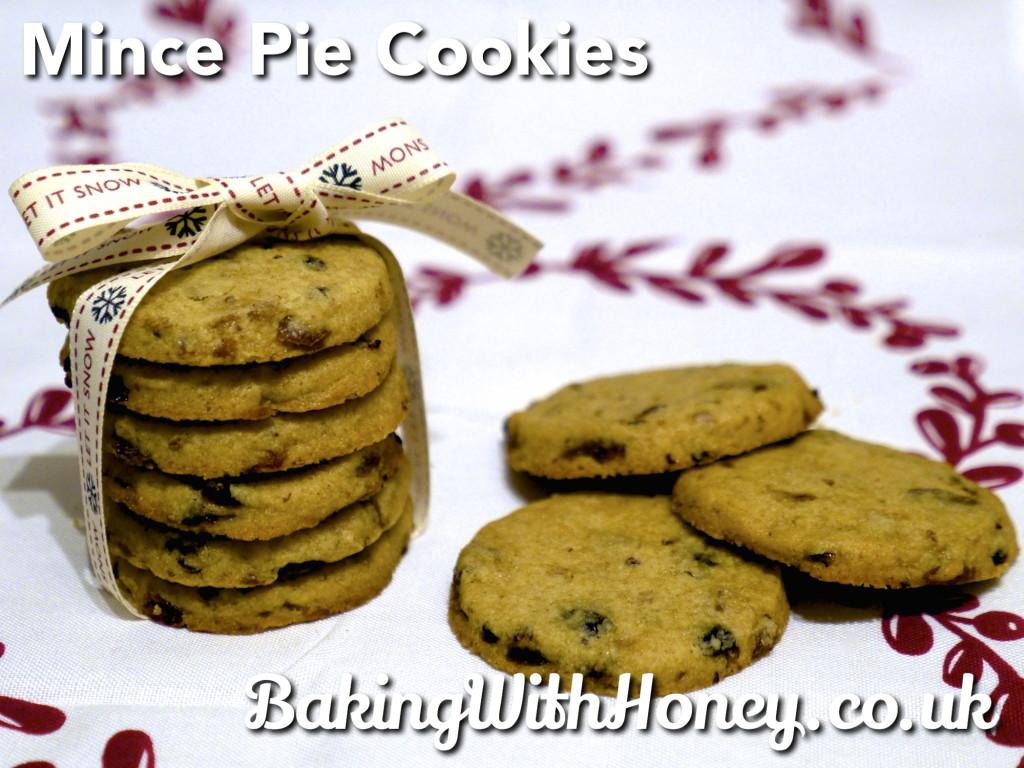 Mince Pie Christmas Cookies Egg Free Vegan