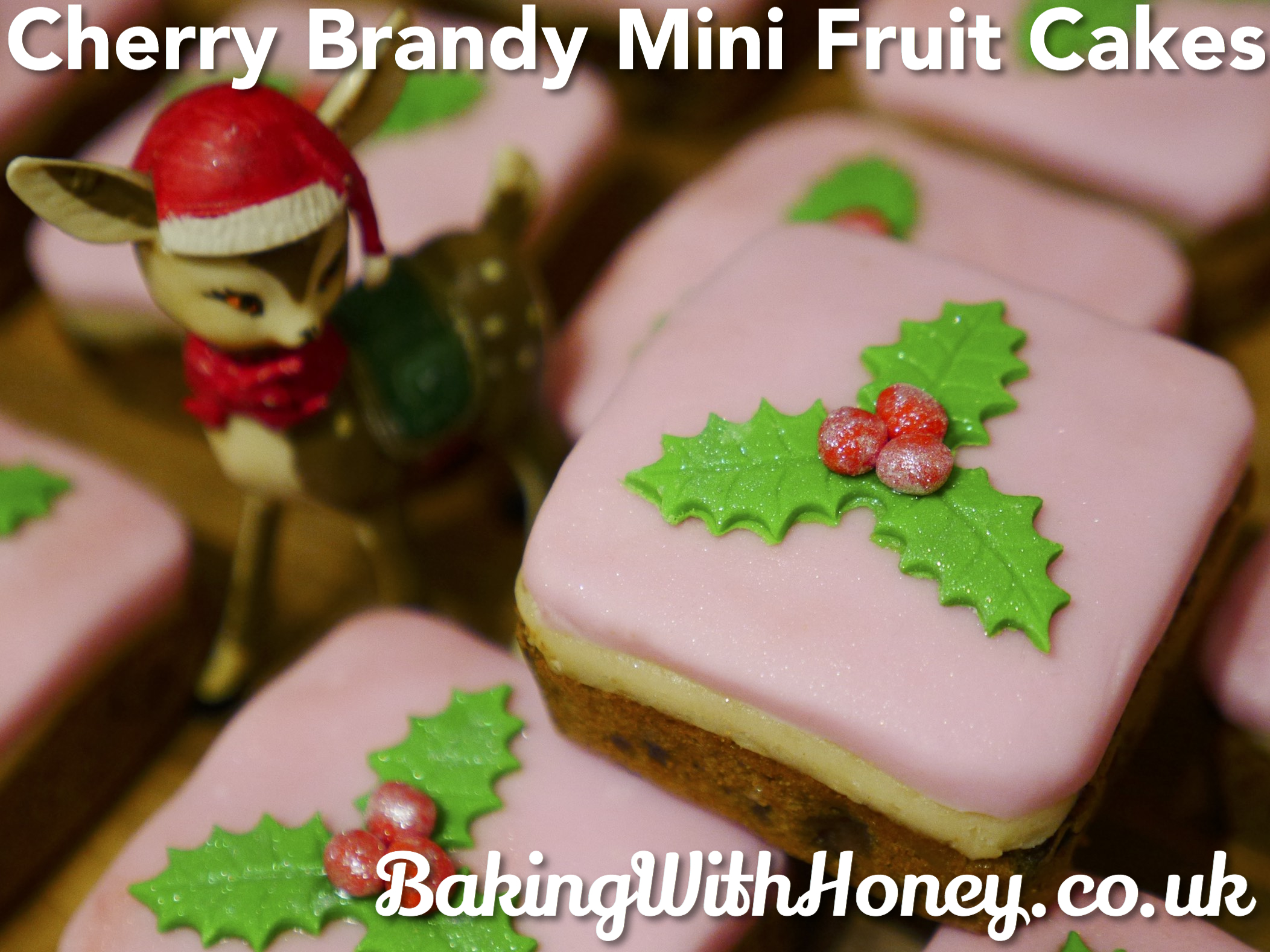 Mini Cherry Brandy Fruit Cakes