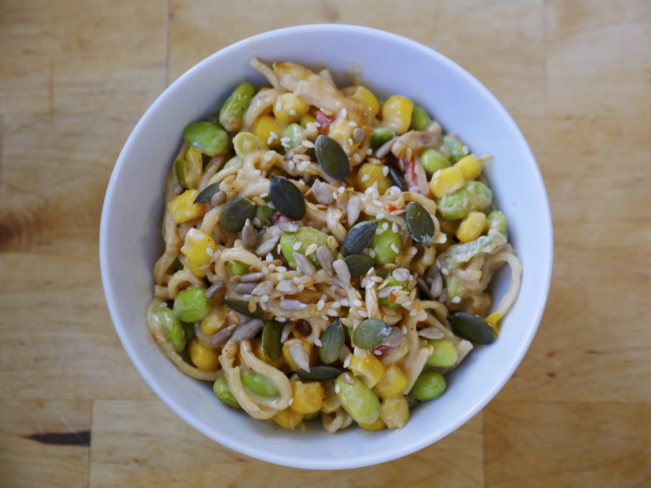 10-Minute Peanut & Sweet Chilli Noodles