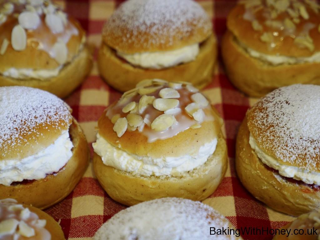 Swedish Finnish Semlor Semla Buns Recipe 2