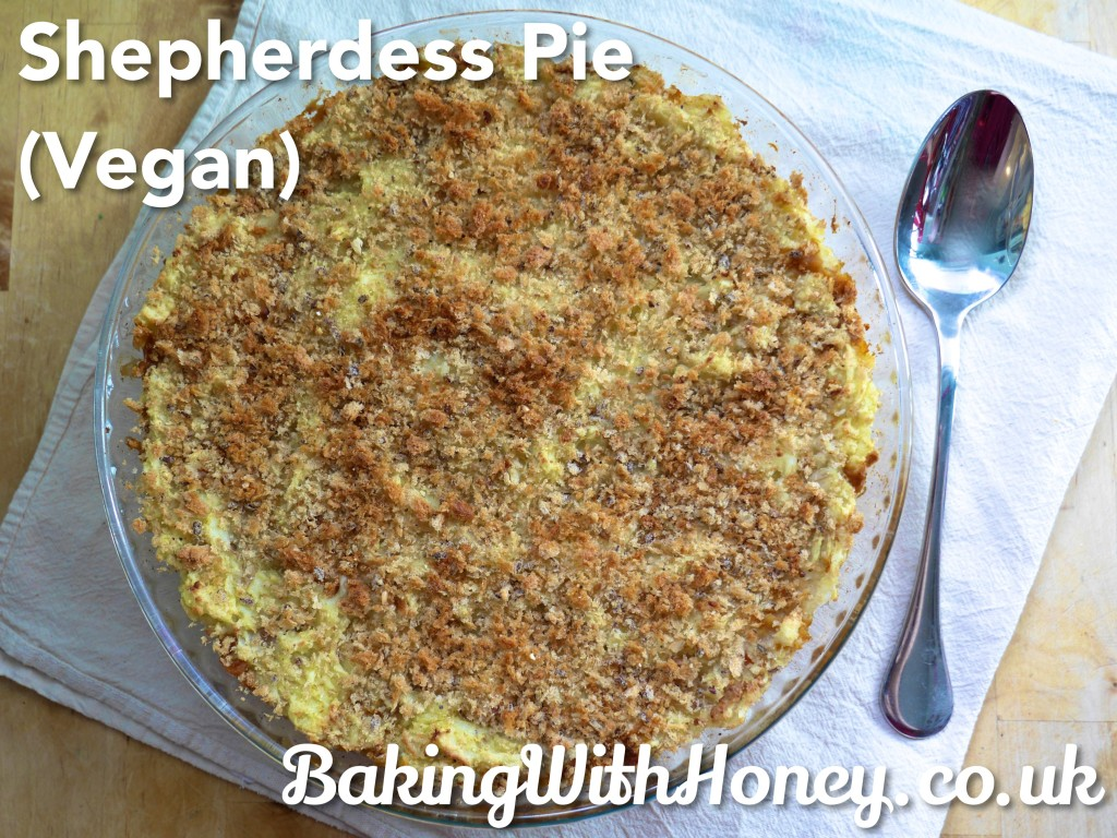 Shepherdess Pie (Vegan, Vegetarian)