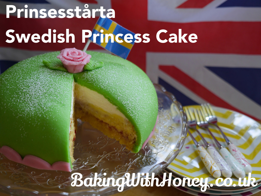 Prinsesstärta - Swedish Princess Cake Step By Step Guide