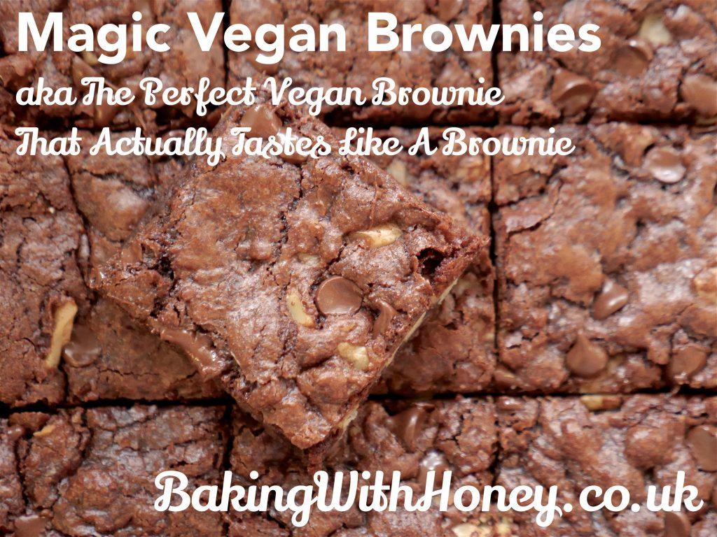 Perfect Vegan Brownies Recipe | Magic Vegan Brownies