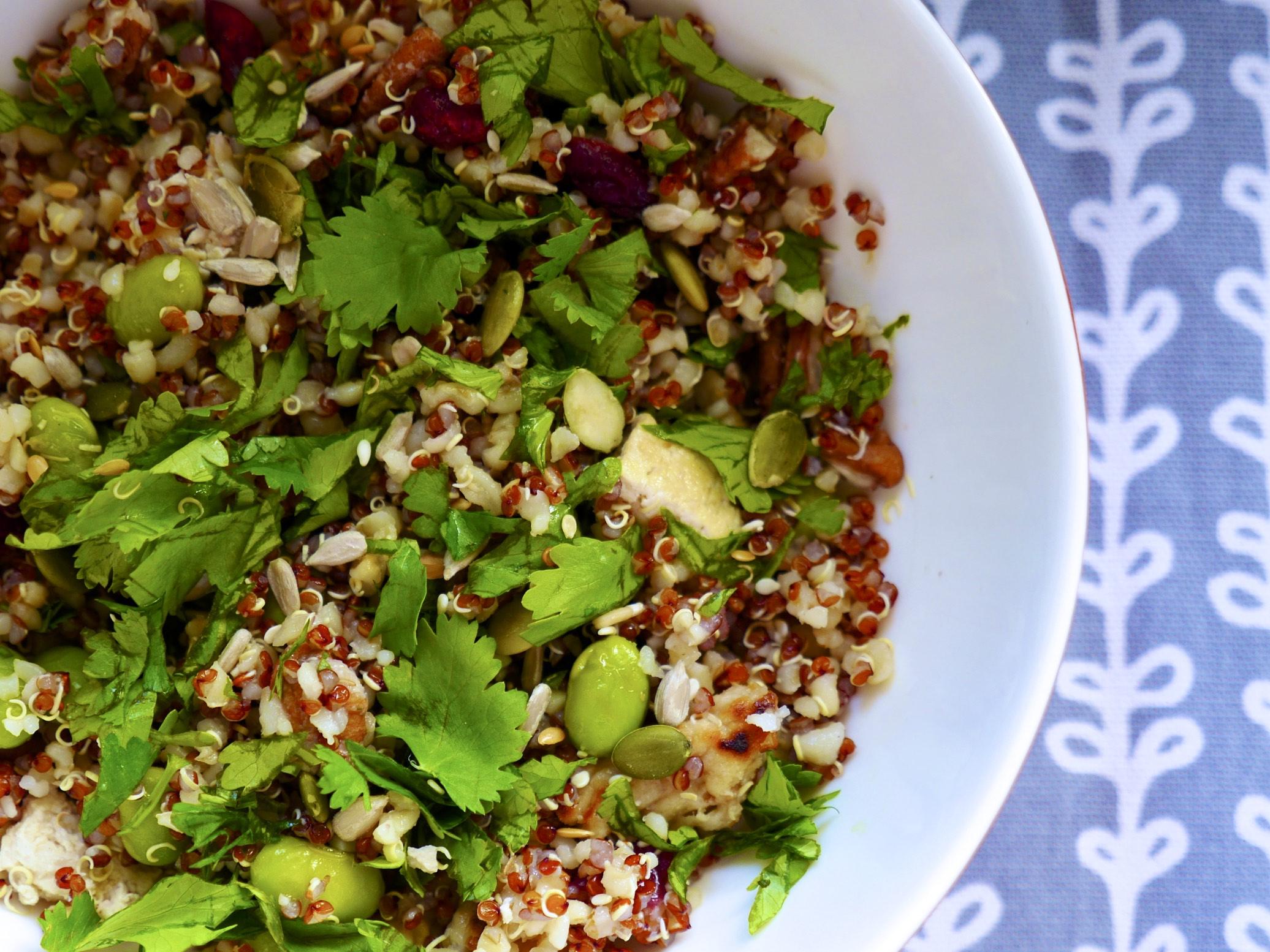 Easy Lunch Time Buddha Bowl // Vegan Basics