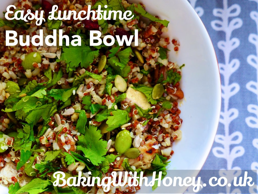 Buddha Bowl Hippie Glory Vegan Lunchtime Quinoa Bulgar Wheat