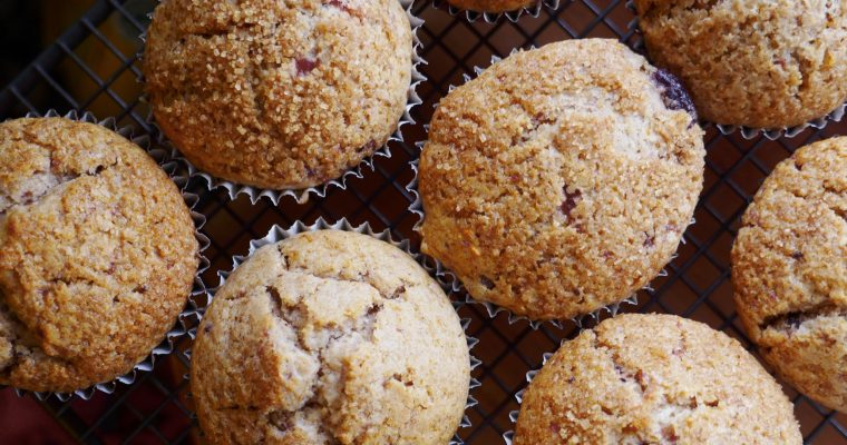 Vegan Christmas Muffins