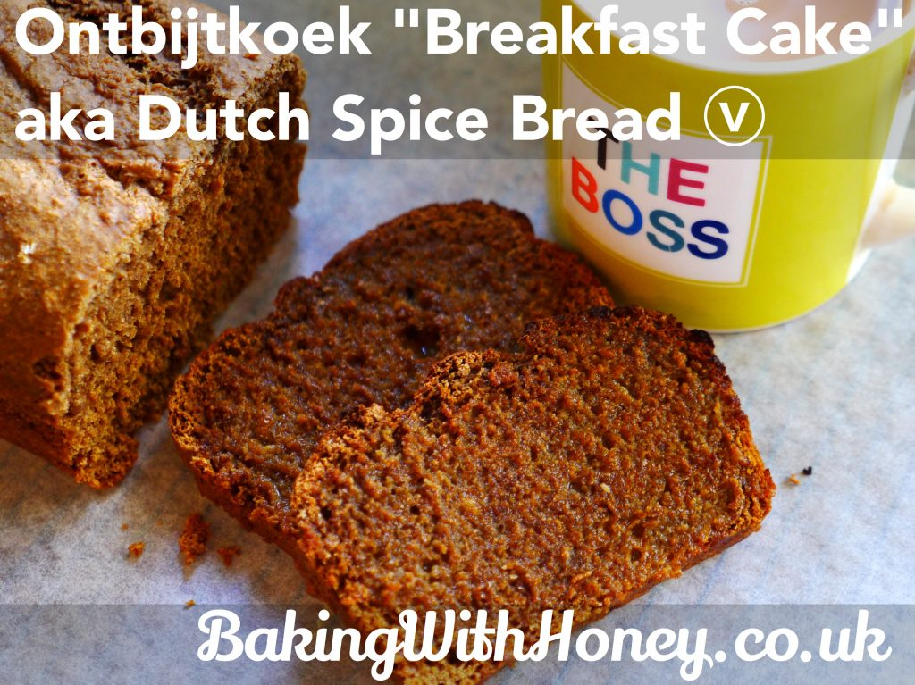 ontbijtkoek vegan dutch spice breakfast cake