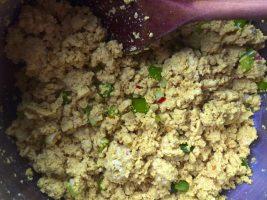 vegan scrambled tofu egg mayo recipe