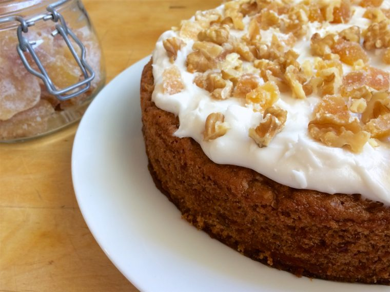 Nigella Carrot Cake With Ginger