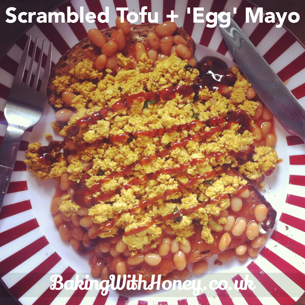 Scrambled tofu 39 egg 39 mayo vegan basics baking with honey - Mayonnaise without eggvegan recipes ...
