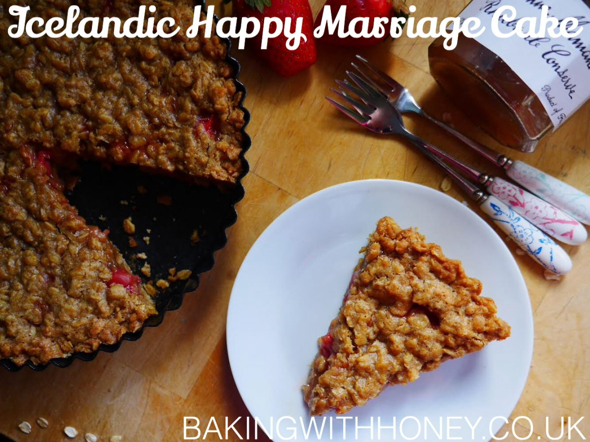Vegan Icelandic Happy Marriage Cake | Hjónabandssaela