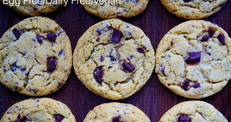 Perfect Chocolate Chip Cookies – Vegan