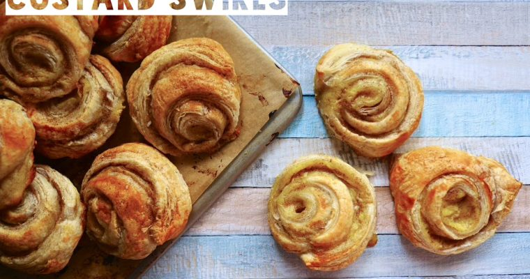 Cheat's Portuguese-Inspired Custard Swirls