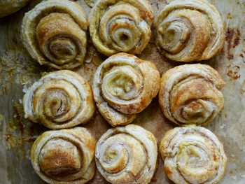 Vegan Portuguese Custard Swirls (Not Tarts!)