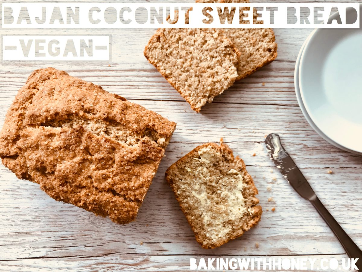Vegan Bajan Coconut Sweet Bread Recipe Egg Free Dairy Free