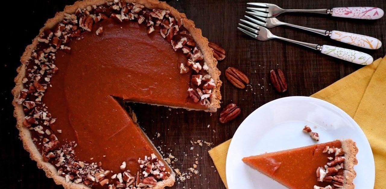 New: Pumpkin Pie With A Pecan Crust