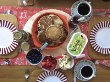 Fluffy Vegan American Pancakes Recipe