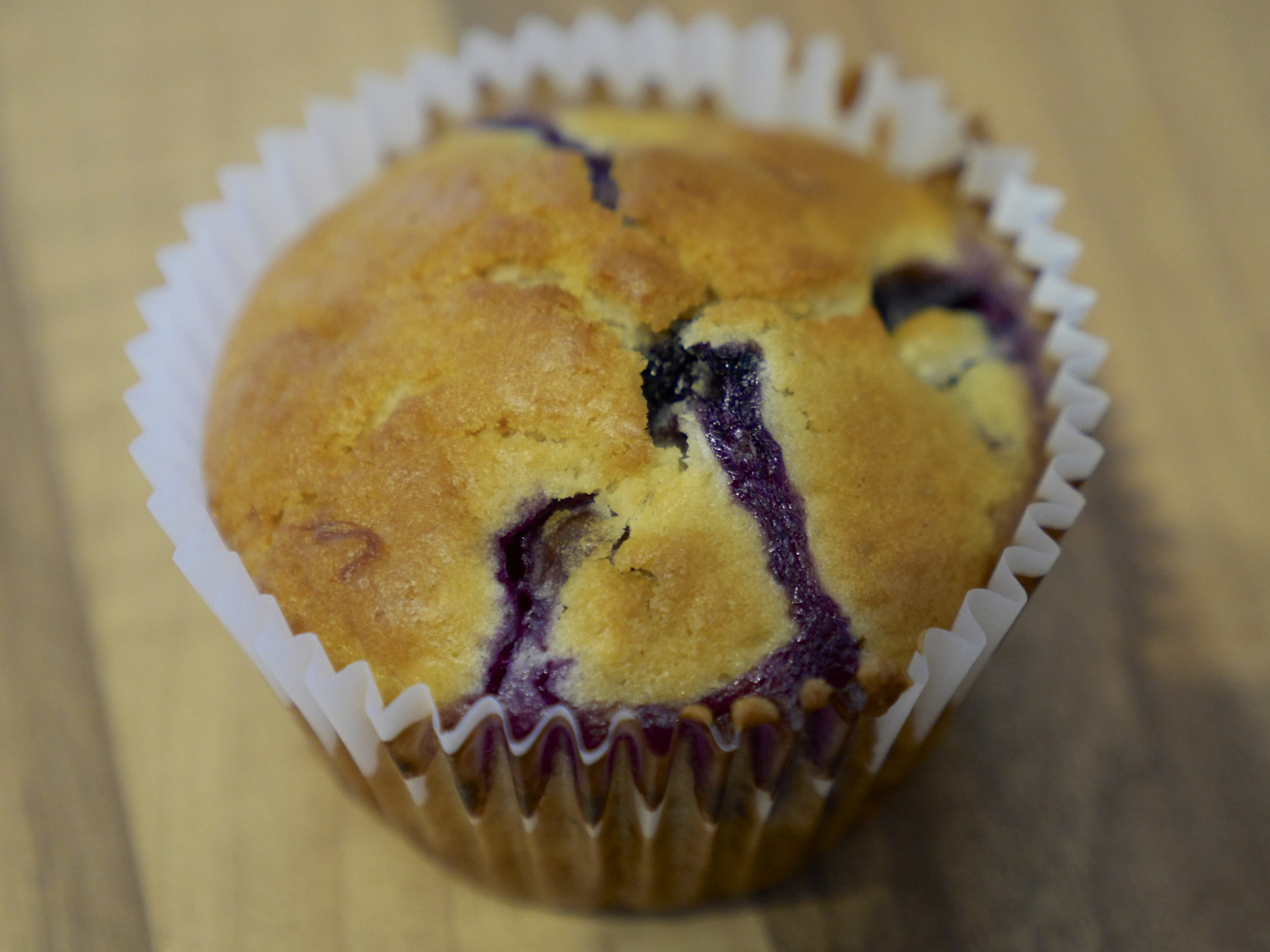 Lunchbox Blueberry Muffins