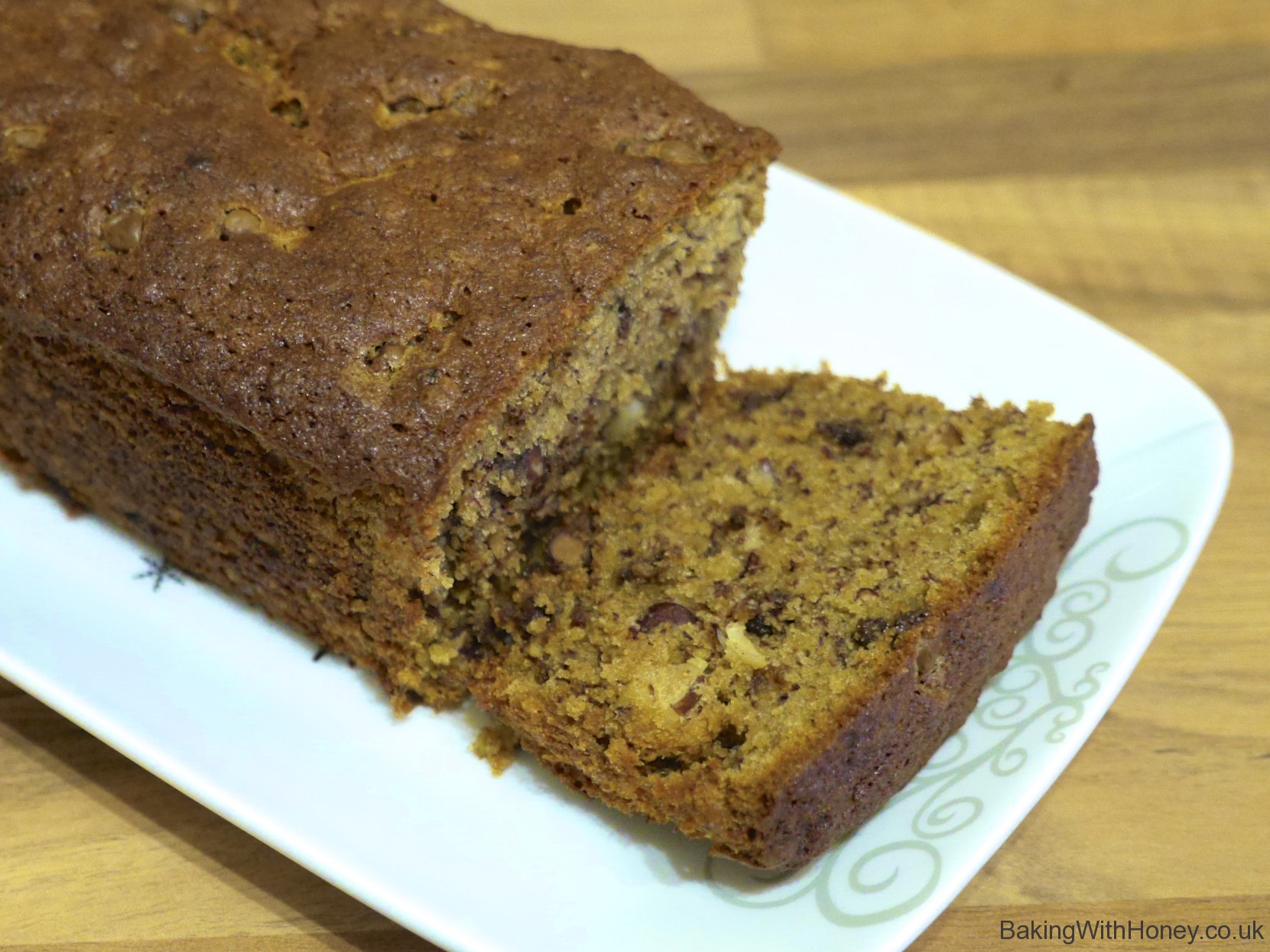Chocolate & Brazil Nut Banana Loaf