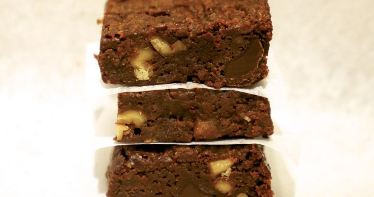 Sourdough Sweet Potato Brownies (Vegan)