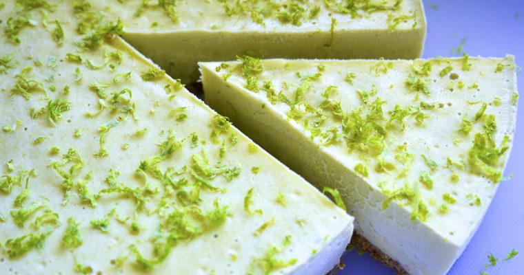 Key Lime Pie – Vegan + No Bake