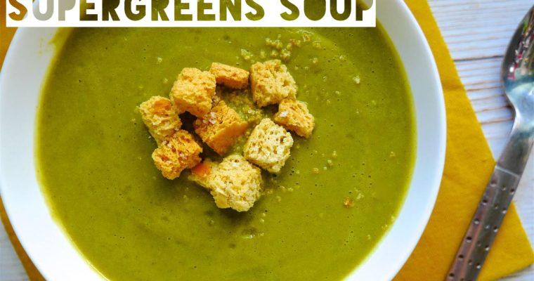 Fast'n'Fresh Supergreens Soup