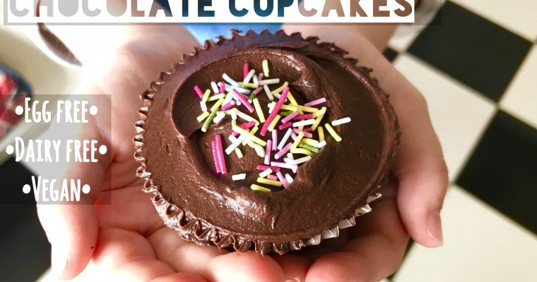 Yes They're Vegan: Best Ever Chocolate Cupcakes With Fudge Frosting